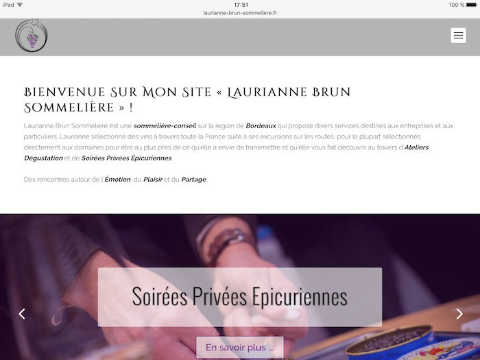 image site web Laurianne Brun